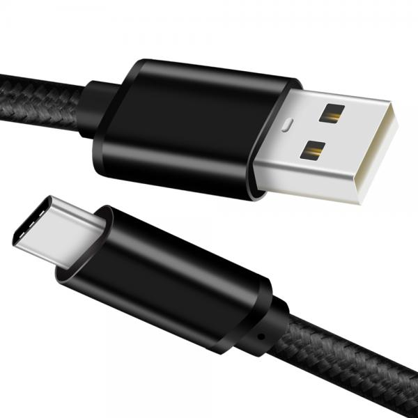Picture of USB2.0 Type-C cable Nylon(black)